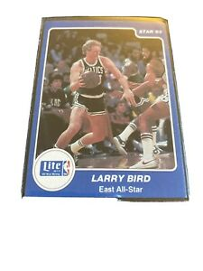 1985 Star Miller Lite Larry Bird #2