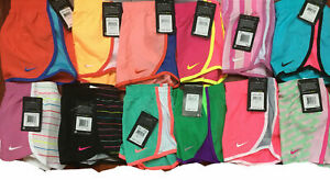 NWT NIKE Little Girls DRI FIT RUNNING Shorts with Underwear Liner, Sizes 4 6X $16.99