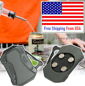Go Swing™ Topless Can Opener - USA Stock - Ez-Drink Lid Remover Genuine Black