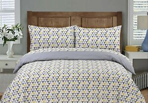 Doona Duvet Quilt Cover  Single and Queen Size With Pillowcases Set Cotton Blend
