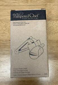Pampered Chef Deluxe Cheese Grater #1275 NIB