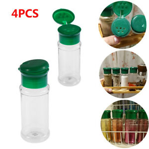 100ml Spice Pepper Salt Can Cruet BBQ Condiment Bottle Seasoning Jar