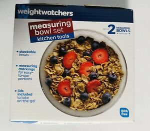Weight Watchers Measuring Bowl Set with Lids