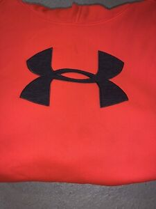 Under Armour Storm boys hoodie size Y XL youth Xtra Large sweat shirt MINT $11.99