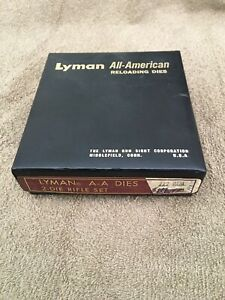 Lyman All American Rifle Dies 222 Remington