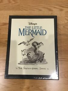 Rare Disney's The Little Mermaid The Sketchbook Series Autographed