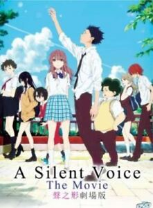 A Silent Voice The Movie Anime DVD with English Audio