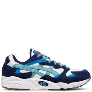 Asics Men's Gel Diablo White Gris Blue Running Shoes 1191A199 100 $54.99