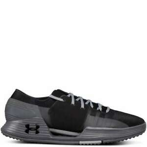 Under Armour Mens Speedform AMP 2 Black Cross Training Shoes 1295773 003 $54.99