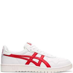 Asics Men's Japan S White Speed Red Fashion Sneakers 1191A212 100 $49.99