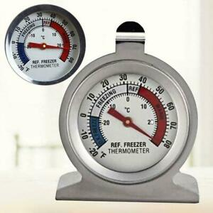 Stainless Steel Temp Refrigerator Freezer Thermometer Hot sale