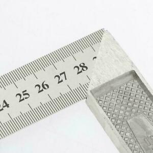 1x Steel L Square Angle Ruler 90 Degree Ruler For Woodworking Carpenter G5L1 C $7.75