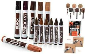 Ram-Pro Furniture Markers Touch Up Repair System - 12Pc Scratch Restore Kit - 6