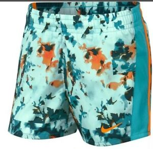 New With Tag Girls Nike Printed Running Shorts Size XL $13.99