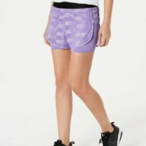 Nike Air 2 In 1 Running Shorts, Purple, Small $18.00