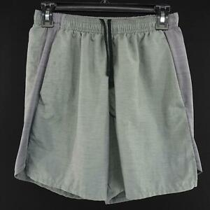 Mens Nike Running Dri Fit Shorts Size Small Gray Training Casual Athletic Sport $29.99