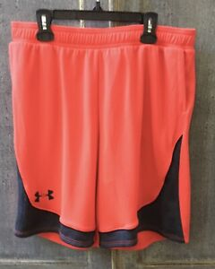Under Amour Boy's Red And Black Shorts Size Youth XL NWT $11.99