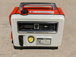 Vintage EM400 Honda Generator AC DC Portable in quot;Pristine Conditionquot;.
