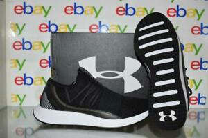Under Armour Breathe Lace 3019973 001 Womens Running Shoes Black White NIB $79.99