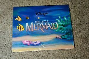 New - Sealed - THE LITTLE MERMAID - Disney Store 4 piece Lithograph Set  $14.95