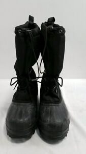 Sorel Black Heavy Rubber Bottomed Boots Size 9 $10.99