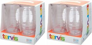 Tervis Tumbler Set of 8 Piece Clear 16 Oz 6 Inch Tall by 3.5 Inch in Diameter $64.95