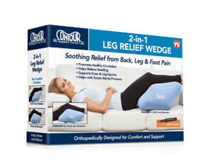 Contour 2 in 1 Leg Relief Wedge As Seen On TV NEW IN BOX