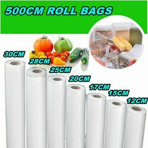 Kitchen Transparent Food Saver Storage Bag Universal Roll Vacuum Sealer Bag Roll