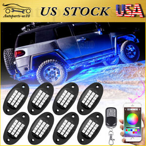 15 Color 6 Mode LED RGB Neon Under Glow Lights Kit for Truck Jeep ATV w Remote $28.98