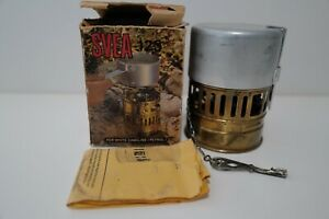 VINTAGE SVEA 123 STOVE MADE IN SWEDEN WITH ORIGINAL BOX TESTED