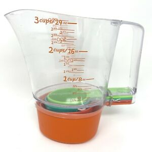 Pampered Chef Kids' Stackable Measuring Cup Set  #2353