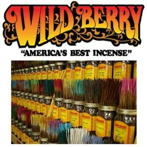"WILDBERRY INCENSE 11"" STICKS 90SCENTS 💥25💥PER PACK BUY MORE SAVE MORE 💥"
