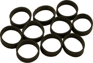 HARDDRIVE Replace Hand Grip Rubber Band Rings 10 Pack Harley 17 0519 R $6.46