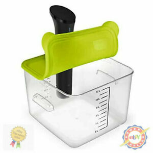 Silicone Sous Vide Lid Anova Cookers 12 18 22Qt Side Mount Container