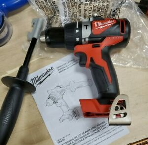 Milwaukee 2902-20 M18 Brushless 1/2in Bare Tool Hammer Drill NEW FREE SHIPPING