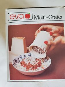 Vintage EVA Multi-Grater in original box with 2 stainless steel graters