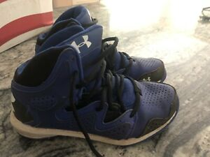 Under armour boys basketball shoes size 5Y $4.70