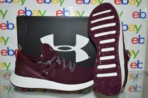 Under Armour Women's Breathe Trainer Training Shoes 3021355 500 Maroon NIB $79.99