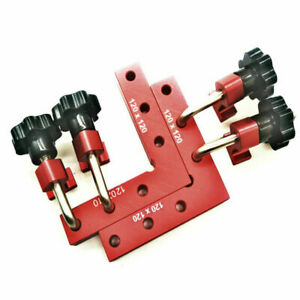 90 Degrees L Shaped Auxiliary Fixture Splicing board Square Ruler Woodworking $52.95