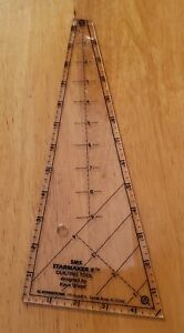 EZ Starmaker Ruler by Kaye Wood for 5 point Stars Instructions Quilt blocks $12.00