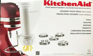 KitchenAid Gourmet Pasta Press Attachment Complete NICE Used Once