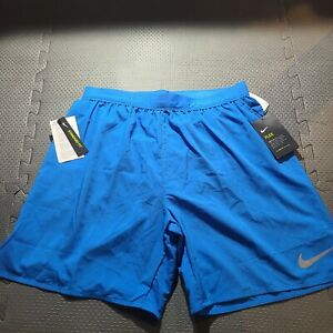 "New Nike Men's Flex Stride 7"" Lined Running Shorts 892911 403 Blue Size L $34.95"