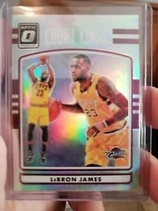 2016 17 Donruss Optic LeBron James Court Kings Holo Silver Refractor #1 Cavs