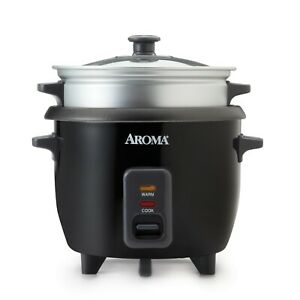 New Aroma One-Touch Rice Cooker & Food Steamer ARC-363-1NGB- Free shipping
