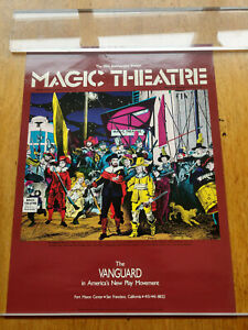 Spain Rodriguez Magic Theater 20th Poster 1987 Sam Shepherd Rembrandt