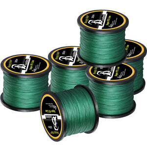 10 100LB Braided Fishing Line 4 8 STRANDS Super Strong Saltwater Fishing Line US