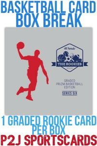 Hit Parade 19 20 Basketball GRADED PRIZM CARD BOX BREAK1 RANDOM TEAM Break 3031