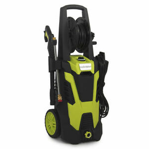 Electric Pressure Washer wHose Reel Kit and 5 Quick-Connect spray tips 3000PSI $39.99