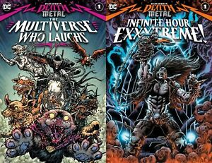 Dark Nights Death Metal the Multiverse Who Laughs Infinite Hour Exxxtreme 1 $9.68