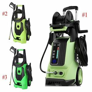 3800PSI 1800W Electric Pressure Washer High Power Jet Wash Cleaner Garden Car US $85.99